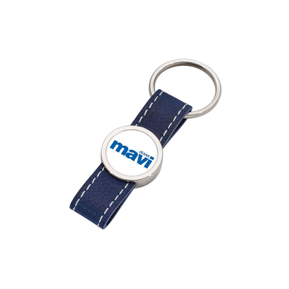 8011 M Leather Keychain